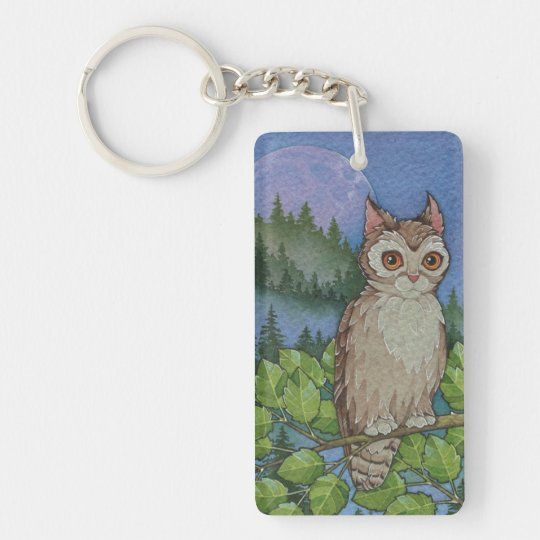 Fantasy Cats Oracle Affirmation - Mystery Double-Sided Rectangular Acrylic Keychain