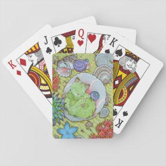 Fantasy Cats Oracle Affirmation - Sleep Poker Deck