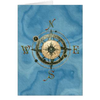 Fantasy (Celtic) Compass Design Card