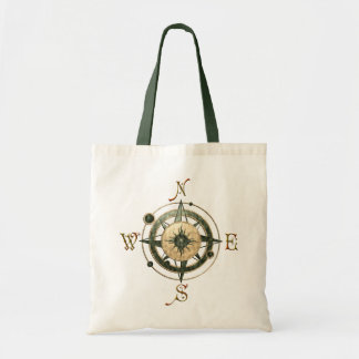 Fantasy (Celtic) Compass Design Tote Bag