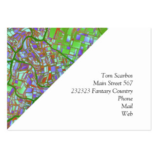 fantasy city maps 2 (C) Large Business Card