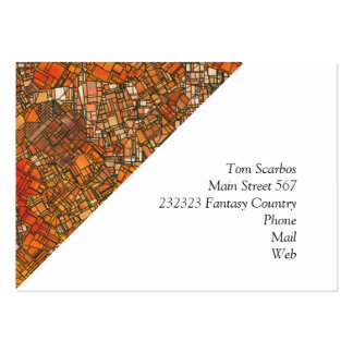 fantasy city maps 3 (C) Pack Of Chubby Business Cards