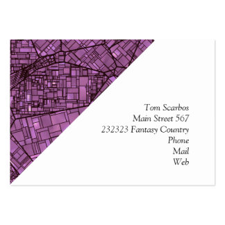 fantasy city maps 4 (C) Pack Of Chubby Business Cards