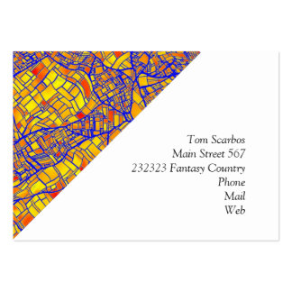 fantasy city maps 5 (C) Pack Of Chubby Business Cards