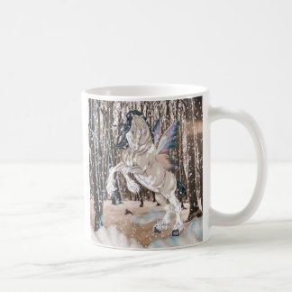 Fantasy Clydesdale Horse Fairy Coffee Mug