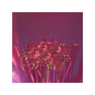 Fantasy  Coral  And  Abstract  Art Canvas Print