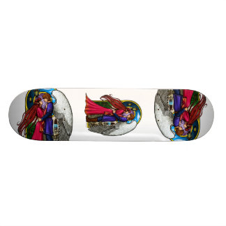 Fantasy Couple Skate Board Deck