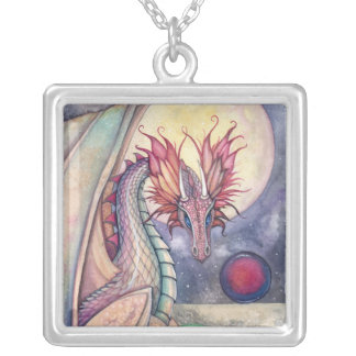 Fantasy Dragon Art Necklace