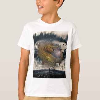 Fantasy Dragon Throne T-shirt