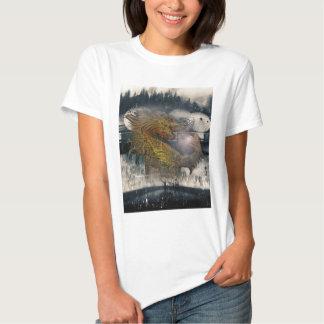 Fantasy Dragon Throne T-shirts