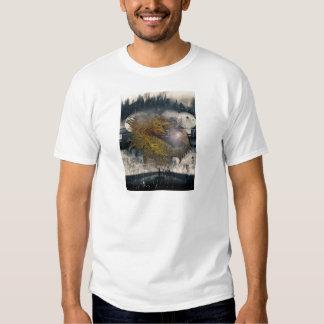 Fantasy Dragon Throne Tshirt