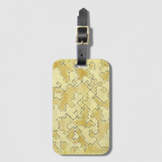 fantasy dungeon maps 1 luggage tag