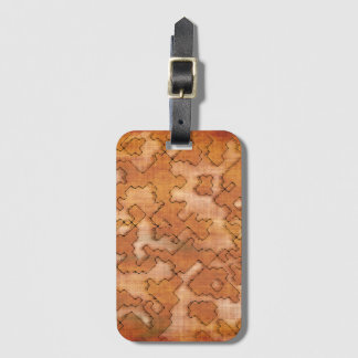 fantasy dungeon maps 2 luggage tag