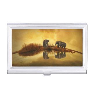 Fantasy Elephant Business Card Holders