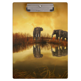 Fantasy Elephant Clipboards