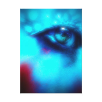 Fantasy Eye Design Canvas Print