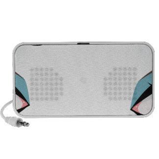 Fantasy eyes makeup 2 iPod speakers