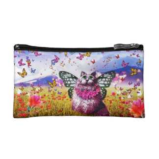 Fantasy Faerie Cat Land Cosmetics Bags
