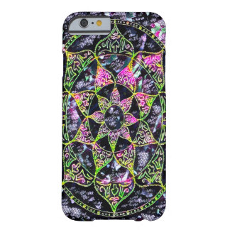 Fantasy Faerie Star Mandala Chalkboard Art Barely There iPhone 6 Case