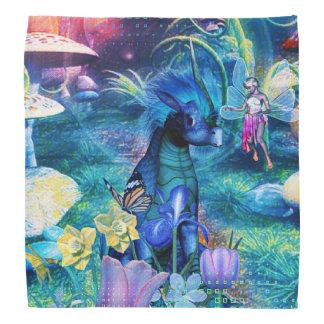 Fantasy fairy and creatures bandana