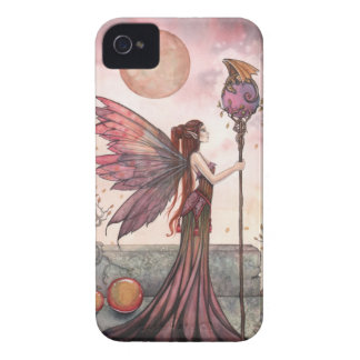 Fantasy Fairy and Dragon iPhone Case