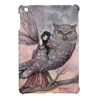 Fantasy Fairy and Owl Art by Molly Harrison Cover For The iPad Mini