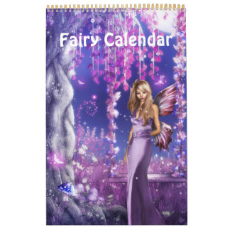 Fantasy Fairy Calendar 2014