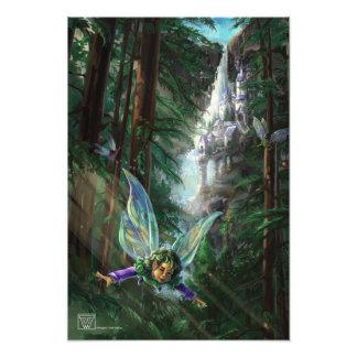 Fantasy Fairy Castle Photo Print