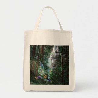 Fantasy Fairy Castle Tote Bag