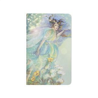 Fantasy Fairy of Ethereal Blue Journal