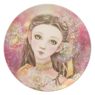 Fantasy Fairy Plate