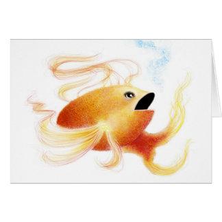 Fantasy Fish: Goldielox Card