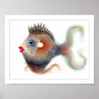 Fantasy Fish Poster: Fancy Poster