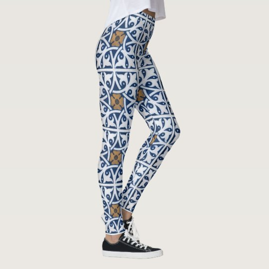 Fantasy Floral Pattern Wonders of Nature Leggings