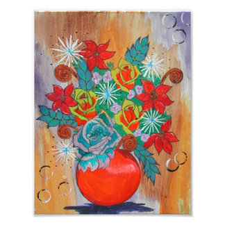 Fantasy Floral Print