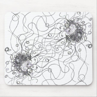 Fantasy Flower Mouse Pad
