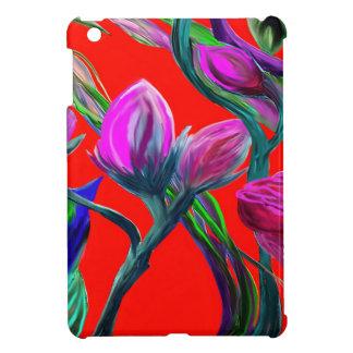Fantasy Flowers Case For The iPad Mini