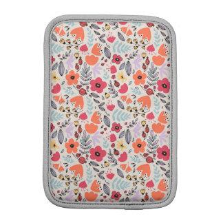 Fantasy flowers iPad mini sleeve
