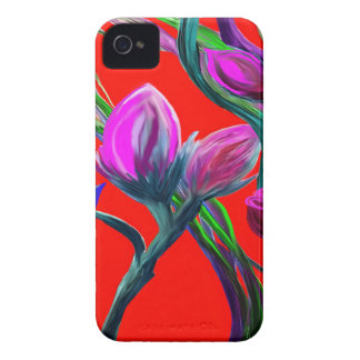 Fantasy Flowers iPhone 4 Cases