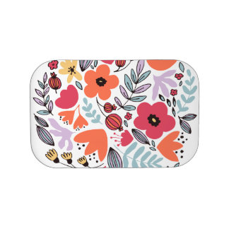 Fantasy flowers lunch box