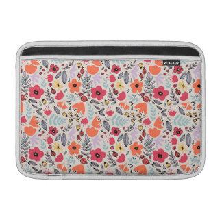 Fantasy flowers MacBook air sleeves