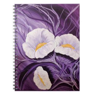 Fantasy Flowers Notebook
