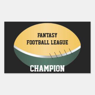 Fantasy Football Champ (customizable) Sticker