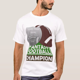 Fantasy Football Champion T-Shirt White