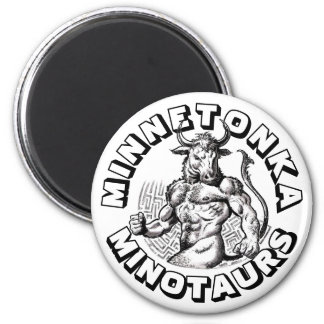 Fantasy Football Champs: The Minnetonka Minotaurs! Magnet
