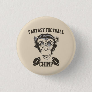 Fantasy Football Chimp 1 Inch Round Button