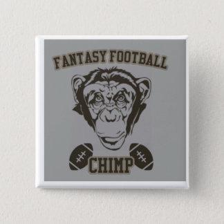 Fantasy Football Chimp 2 Inch Square Button