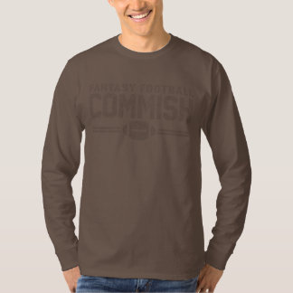 Fantasy Football Commish Shirts