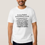 Fantasy Football Commissioner Commandments Shirt