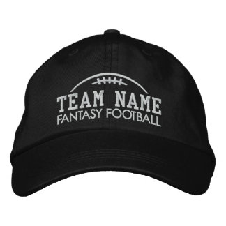 Fantasy Football Fan Gear with Your Team Name Baseball Cap